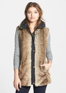 Ellen Tracy Faux Fur Vest (Online Only)