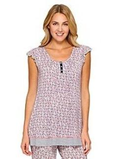 Ellen Tracy® Floral Short Sleeve Knit Top