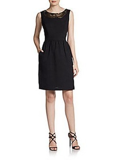Ellen Tracy Kenya Beaded Dress