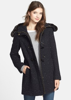 Ellen Tracy Luxe Trim Duffle Coat