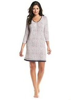 Ellen Tracy® Mid-Length Sleeve Gown - Leopard