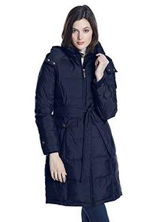 Ellen Tracy Outerwear Women's Belted Down Coat