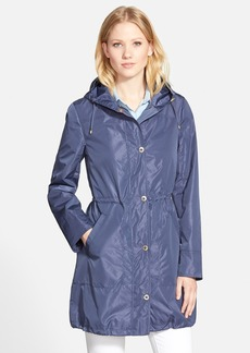 Ellen Tracy Packable Hooded Raincoat