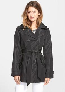 Ellen Tracy Packable Trench Coat with Detachable Hood (Regular & Petite)