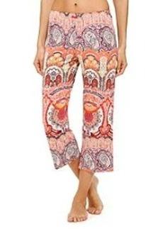 Ellen Tracy® Paisley Print Capri Pants