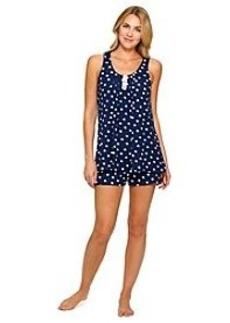 Ellen Tracy® Polka Dot Knit Shorts