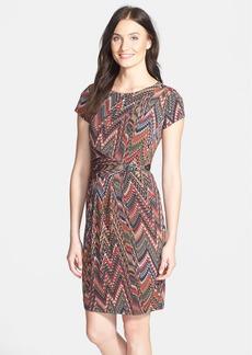 Ellen Tracy Print Sheath Dress
