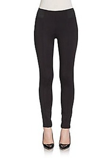 Ellen Tracy Seamed Leggings