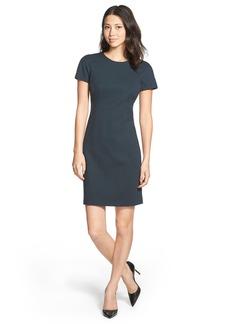 Ellen Tracy Short Sleeve Sheath Dress
