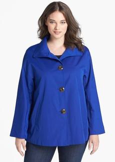 Ellen Tracy 'Signature' Rain Jacket (Plus Size)
