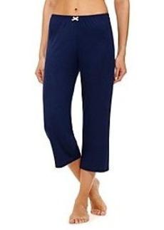 Ellen Tracy® Solid Knit Capri Pants