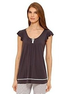 Ellen Tracy® Solid Short Sleeve Top