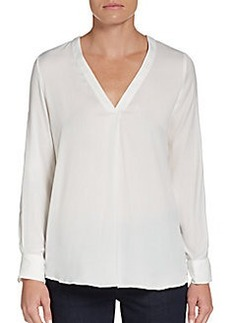 Ellen Tracy Trapunto Blouse