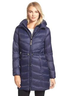 Ellen Tracy Vest Front Down Coat