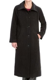 Ellen Tracy Wool Maxi Coat (For Women)