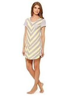 Ellen Tracy® Yellow Chevron Sleepshirt