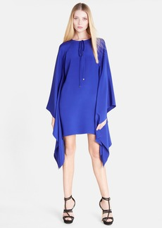 Emilio Pucci Angel Sleeve Silk Caftan Dress