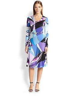 Emilio Pucci Astana Jersey Dress