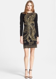 Emilio Pucci Beaded Punto Milano Dress