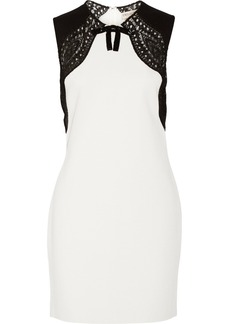 Emilio Pucci Bow-embellished stretch-knit dress