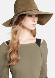 Emilio Pucci Calfskin Leather Floppy Hat