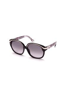 Emilio Pucci Circular Graphic Sunglasses