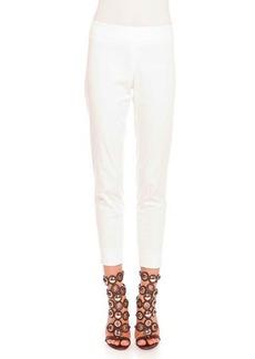 Emilio Pucci Clean-Front Capri Pants