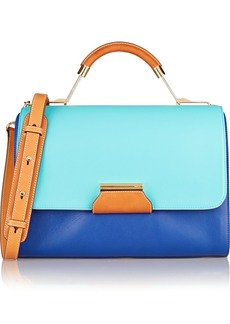 Emilio Pucci Color-block leather shoulder bag