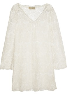 Emilio Pucci Cotton-blend lace dress