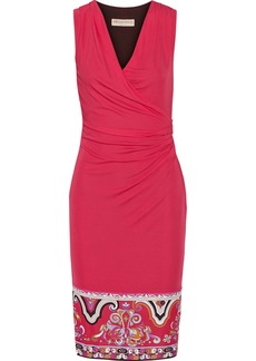 Emilio Pucci Draped jersey dress