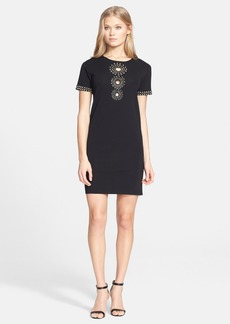 Emilio Pucci Embellished Shift Dress