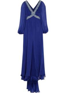 Emilio Pucci Embellished silk-chiffon dress