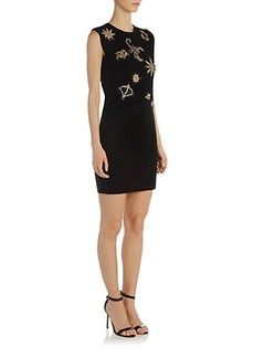 Emilio Pucci Embroidered Knit Dress