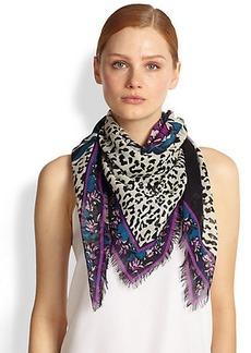 Emilio Pucci Khiva Silk & Wool Scarf