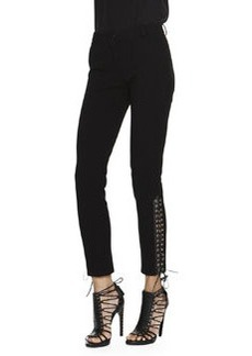 Emilio Pucci Lace-Up-Cuff Milano Pants