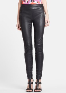 Emilio Pucci Lambskin Leather Leggings