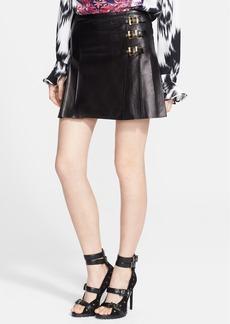 Emilio Pucci Leather Miniskirt