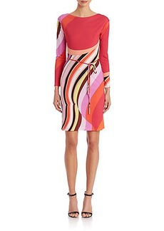 Emilio Pucci Marilyn Printed Silk Dress