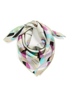Emilio Pucci 'Mosaico' Silk Scarf
