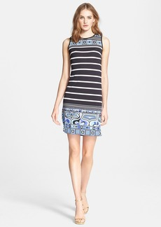 Emilio Pucci Nautical Print Sleeveless Dress