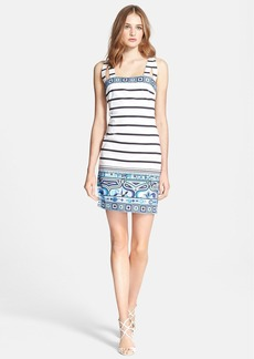 Emilio Pucci Nautical Print Stretch Cotton Dress