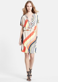 Emilio Pucci Onyx Print Jersey Dress