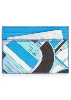 Emilio Pucci Print Credit Card Holder