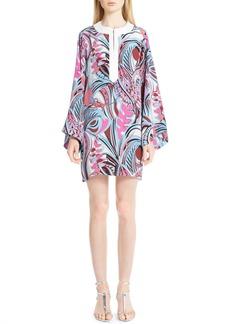 Emilio Pucci Print Silk Blend Caftan