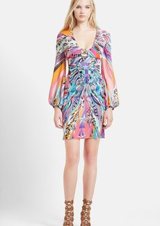 Emilio Pucci Print Silk Georgette Dress