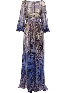 Emilio Pucci Printed silk-chiffon dress