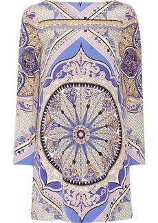 Emilio Pucci Printed silk-crepe dress