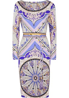 Emilio Pucci Printed silk-jersey dress