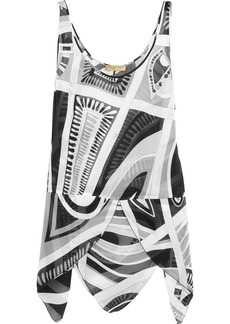 Emilio Pucci Printed silk top