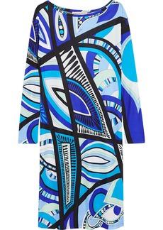 Emilio Pucci Printed stretch-jersey dress